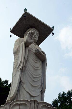 Buddhist temple in Seoul in Soth Korea