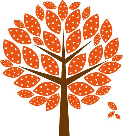 genealogical tree: autumn tree