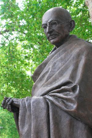 Statue of Mahatma Gandhi in Parliment Square London