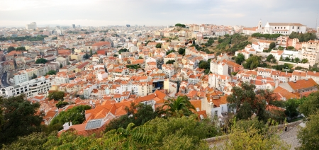 Cityscape of Lisbon  capital of Portugal  photo