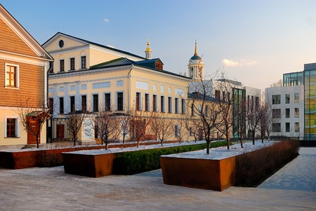 stanislavsky plaza renovated office center in Moscow  Russia