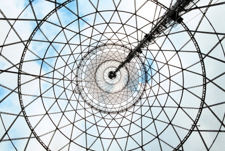 View from the Shukhov radiotower  Moscow Stock Photo - 13911953