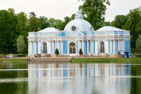 selo: Old palace near Saint-Petersburg  Tsarskoe Selo