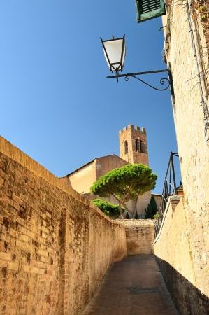 siena: basilica san domenico  siena - toscana - italy