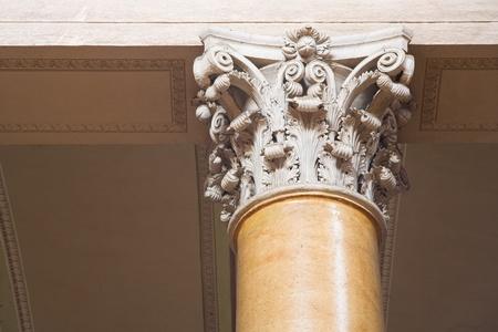 corinthian: Architectural detail, Corinthian columns.