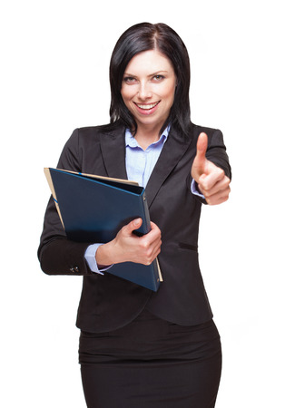Portrait of an elegant smart looking beautiful businesswoman. photo