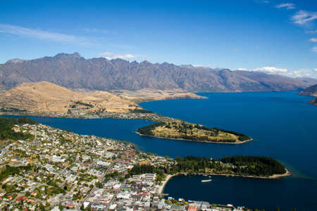 Queenstown, South Island, New Zealand photo