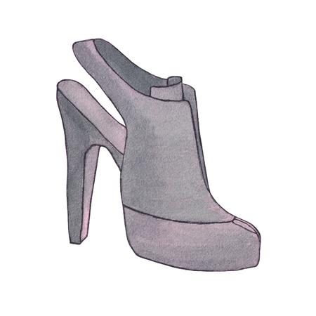 Dibujos Juegos De Image Mujer Zapatos Para Colorear Of Bog5qovx