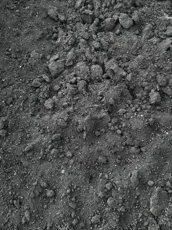 pila: Soil dark grunge texture. Abstract background Stock Photo
