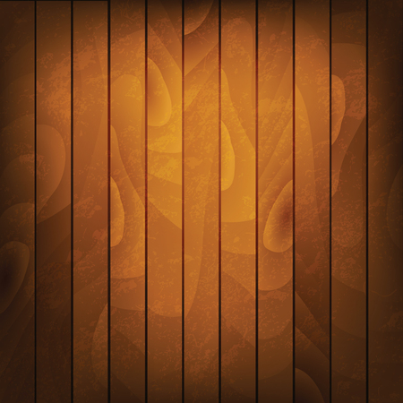 Vector wood background. Brown wood texture.