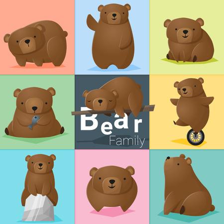 whelps: Set of Bear family