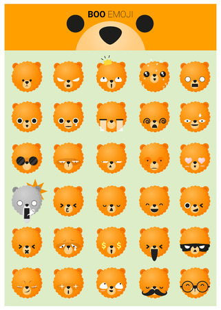 perro asustado: iconos emoji perro