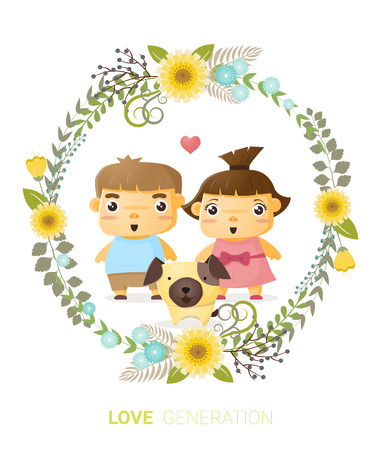 generation: Love generation greeting card