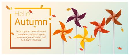 Autumn season design. Illustration