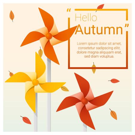 Autumn season design. Vettoriali