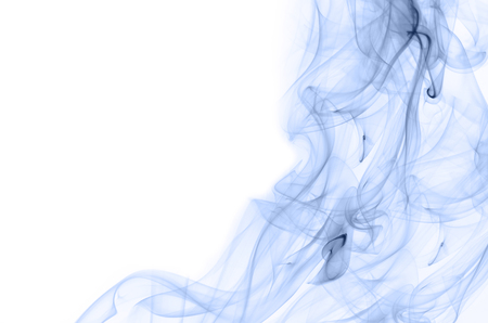 curve line: serenity color smoke on white background
