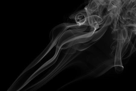 white smoke: white smoke on black background