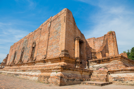 Wat Maheyong, Old temple at Ayutthaya, Thailand