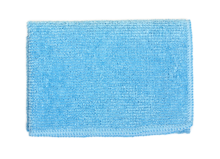 hardwearing: Office universal microfibre cleaning cloth isolated on a white