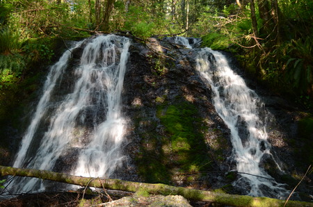 beautiful waterfalls in nature