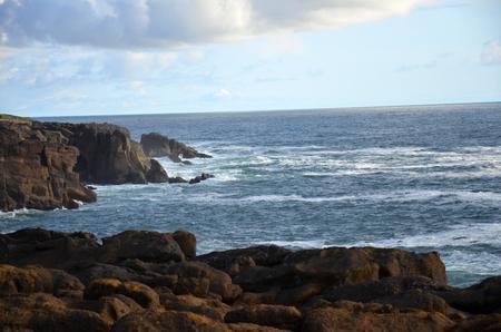 rocky ocean front