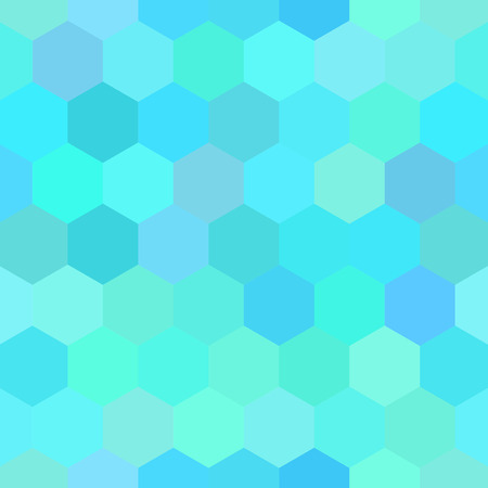 seamless pattern hexagon. Vector
