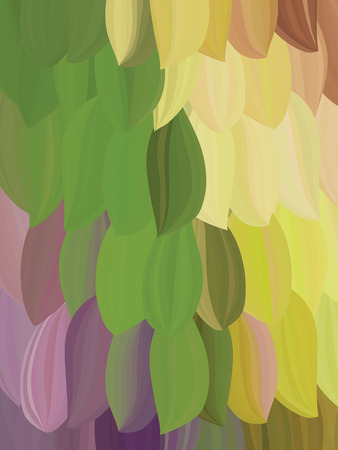 plumage: abstract background in the form of feathers  like a parrot plumage  colorful backdrop  place text on top of the figure