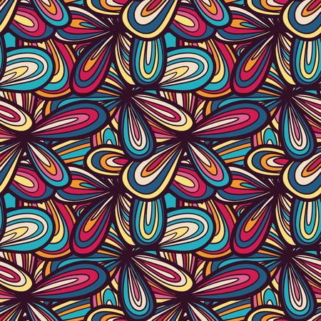 psychoanalysis: Seamless abstract hand-drawn texture   Illustration
