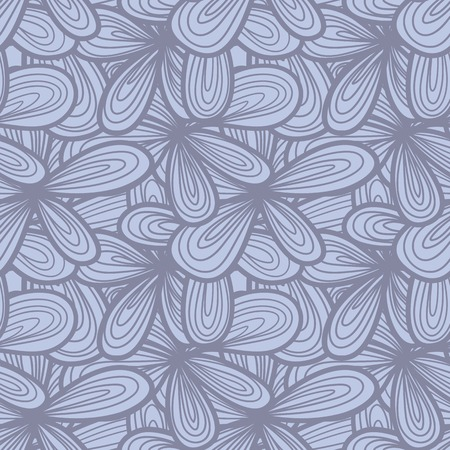 psychoanalysis: Seamless abstract hand-drawn texture. Pale pastel color. Endless floral pattern. Illustration