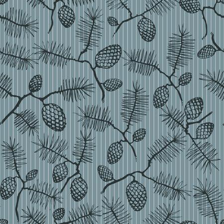 fir cone: patr�n de textura transparente con cono de abeto y las rayas.