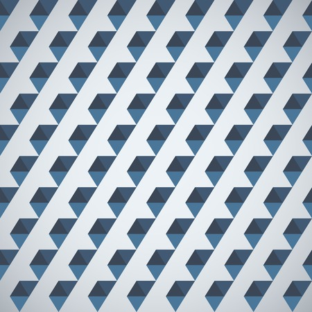parallelepiped: Pattern of geometric shapes half hexagon