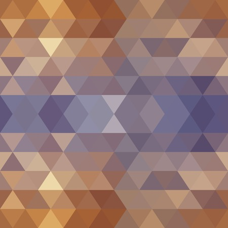 parallelepiped: Retro pattern of geometric shapes Illustration