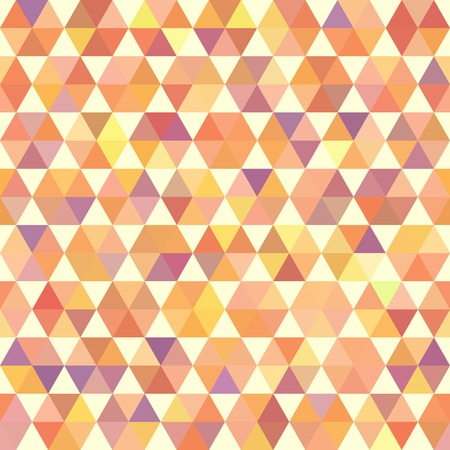 orange pattern: Retro orange pattern of geometric shapes hexagon. Colorful mosaic banner. Geometric hipster retro background with place for your text. Retro triangle background