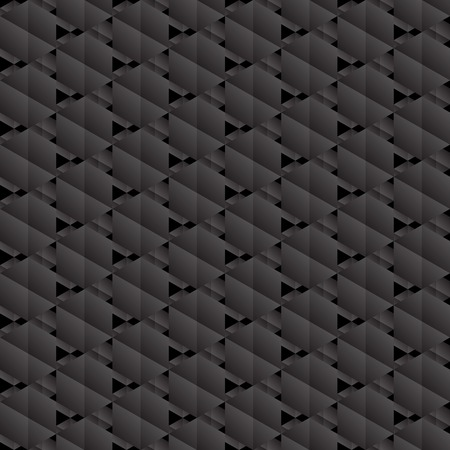 Black hexagons seamless pattern. Can be used for wallpaper, pattern fills, web page background,surface textures. Vector
