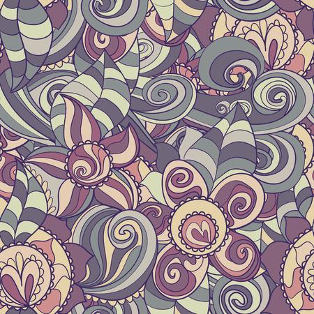 seamless texture: Blumenmuster mit bunten bl�henden Blumen, nahtlose Textur