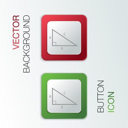 math icon: triangle math icon Illustration