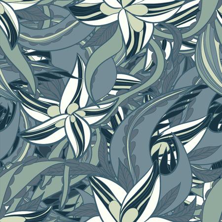 seamless texture: Zusammenfassung Blumenmuster mit bunten bl�henden Blumen, nahtlose Textur