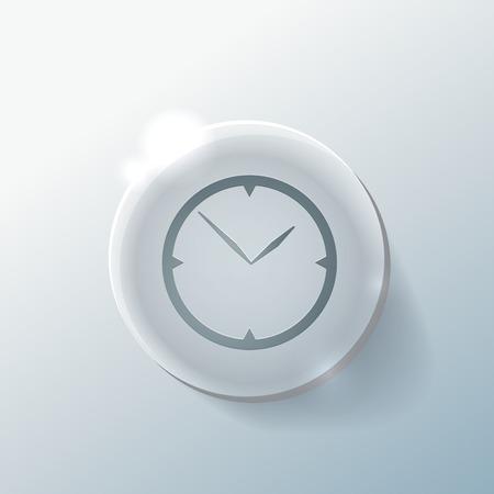 usage: clock. watch sign