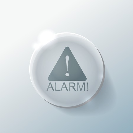 the precaution: Exclamation Sign, alarm sign.