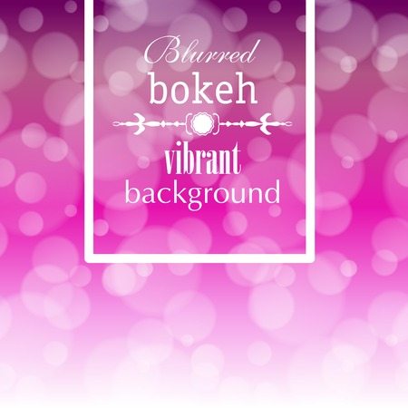 focus on background: Abstract blur bokeh bright color background