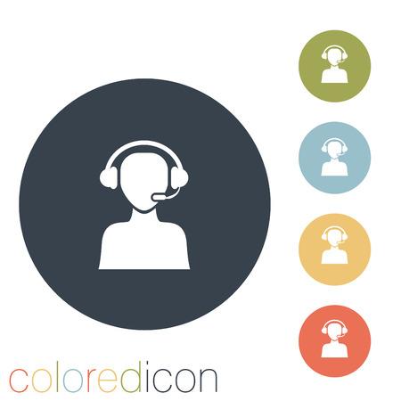 customer support avatar Illustration