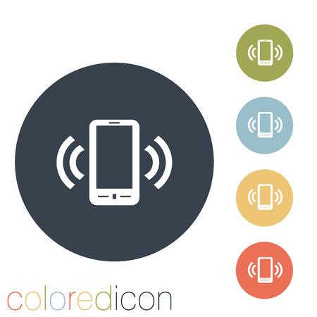 ringing phone, the call. Ilustração Vetorial