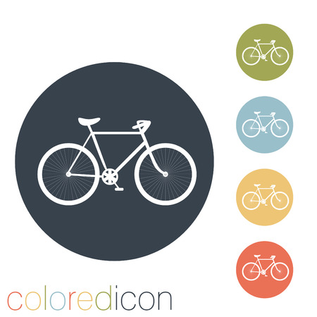 retro bicycle icon