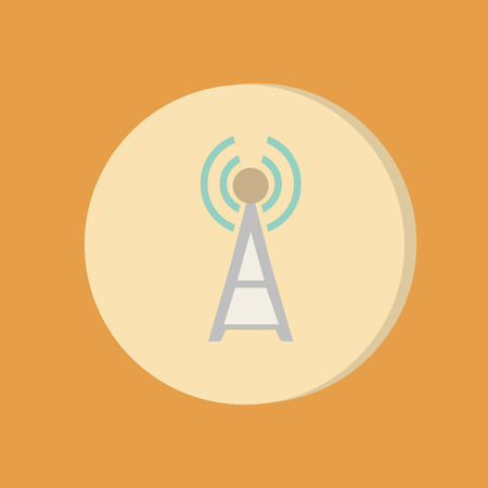 Wifi Tower Vector