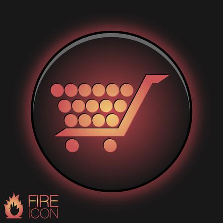 internet shop: cart online store, Internet shop. basket shopping