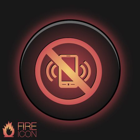 embargo: forbidden to use mobile phone