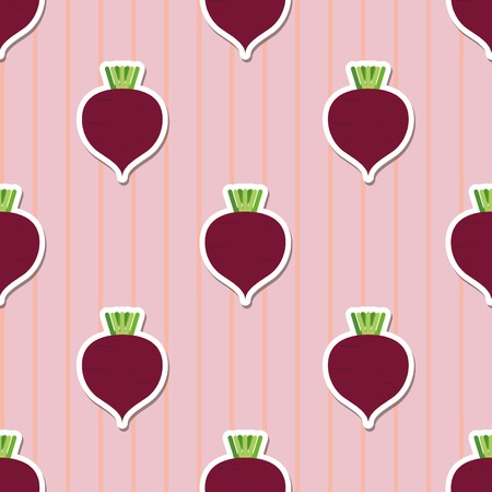 beetroot: beet pattern Seamless texture with ripe beetroot.