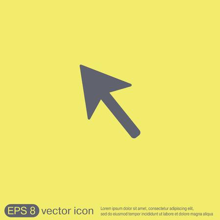 cursor: web arrow symbol, cursor icon