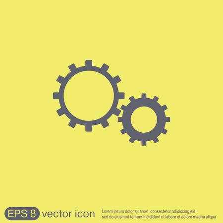 cogwheel: cogwheel, icon setting and repair, symbol settings.