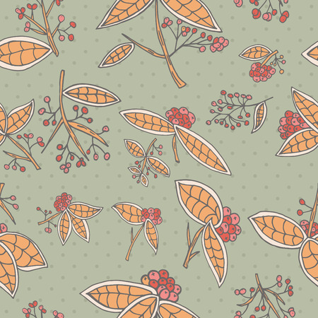 cranberry: Cranberry pattern with leaves and berries.